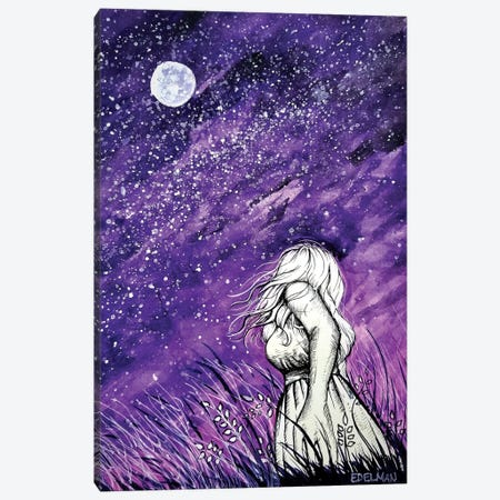 Stargazer Canvas Print #EDL44} by Kelly Edelman Art Print