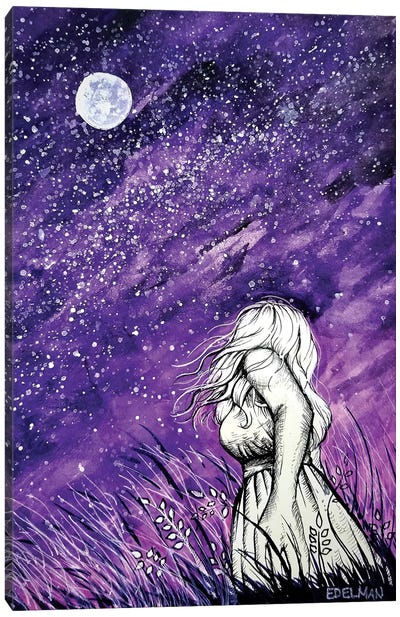 Stargazer Canvas Art Print