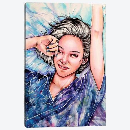 Sunday Morning Canvas Print #EDL45} by Kelly Edelman Canvas Art Print