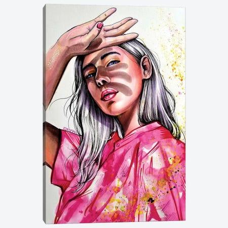 Sunny Day Canvas Print #EDL46} by Kelly Edelman Canvas Art Print