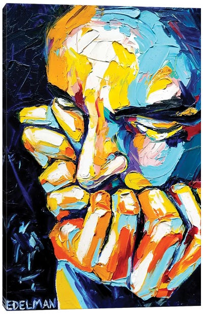 Thinker Canvas Art Print