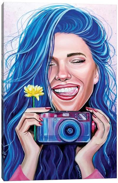 Camera Canvas Art Print