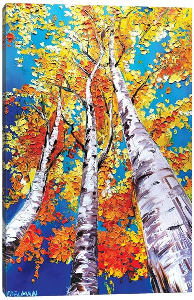 Trees Canvas Art Print