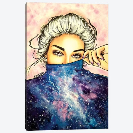 Universe Canvas Print #EDL52} by Kelly Edelman Canvas Print