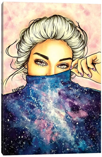 Universe Canvas Art Print