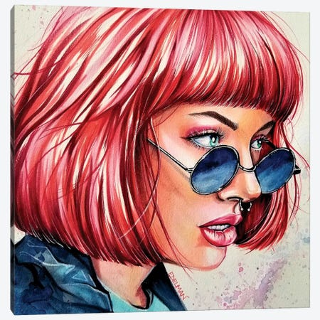 Vison Canvas Print #EDL53} by Kelly Edelman Canvas Art Print