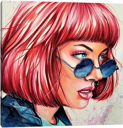 Vison Canvas Art Print