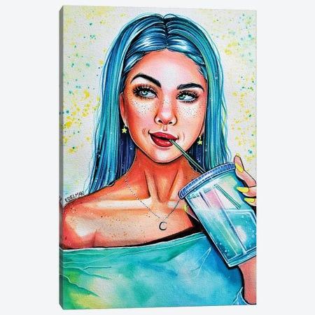 Drink Me Canvas Print #EDL59} by Kelly Edelman Canvas Art Print