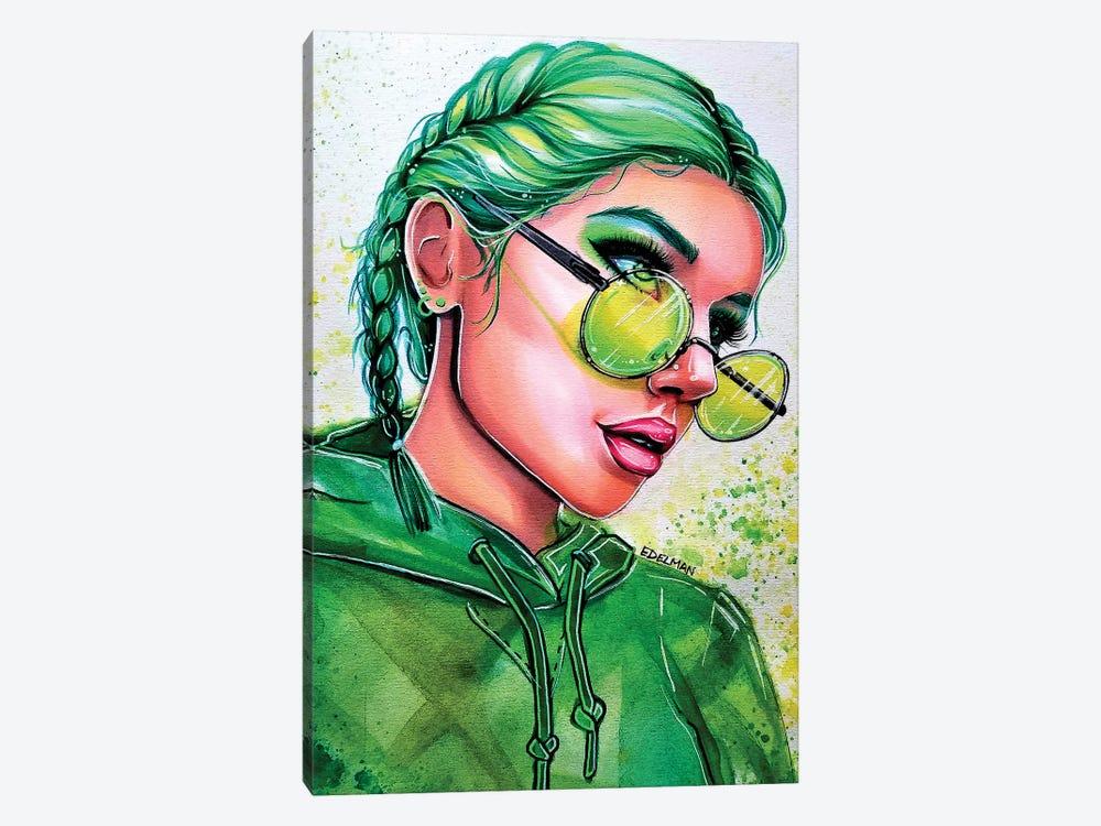 Emerald Green by Kelly Edelman 1-piece Canvas Wall Art