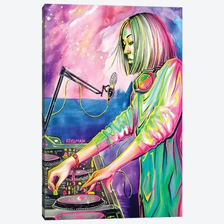 Festival Nights Canvas Print #EDL61} by Kelly Edelman Canvas Art