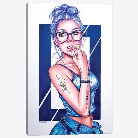 Libra Canvas Print #EDL64} by Kelly Edelman Canvas Art Print
