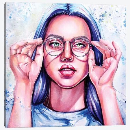 Clarity Canvas Print #EDL6} by Kelly Edelman Canvas Wall Art