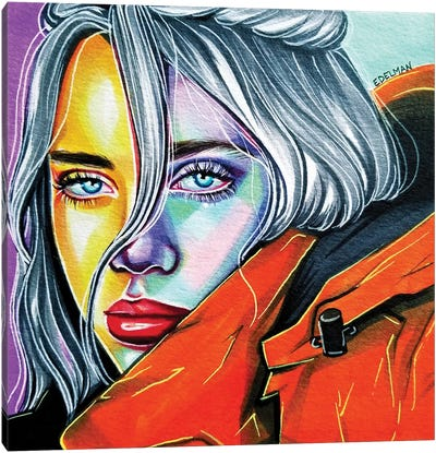 Billie Eilish Canvas Art Print