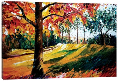 Fall Tree Canvas Art Print
