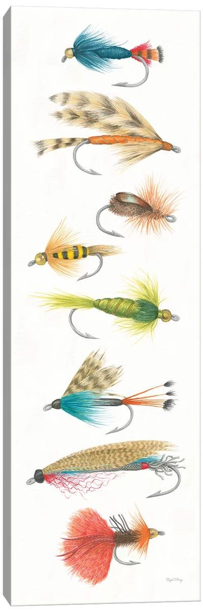 Gone Fishin X Canvas Art Print