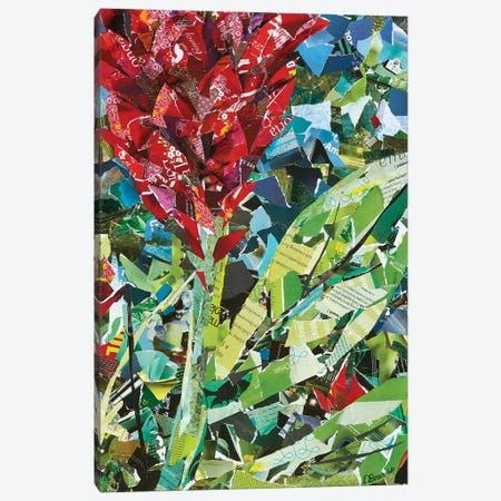 Red Ginger 3-Piece Canvas #EDO12} by Eileen Downes Canvas Artwork