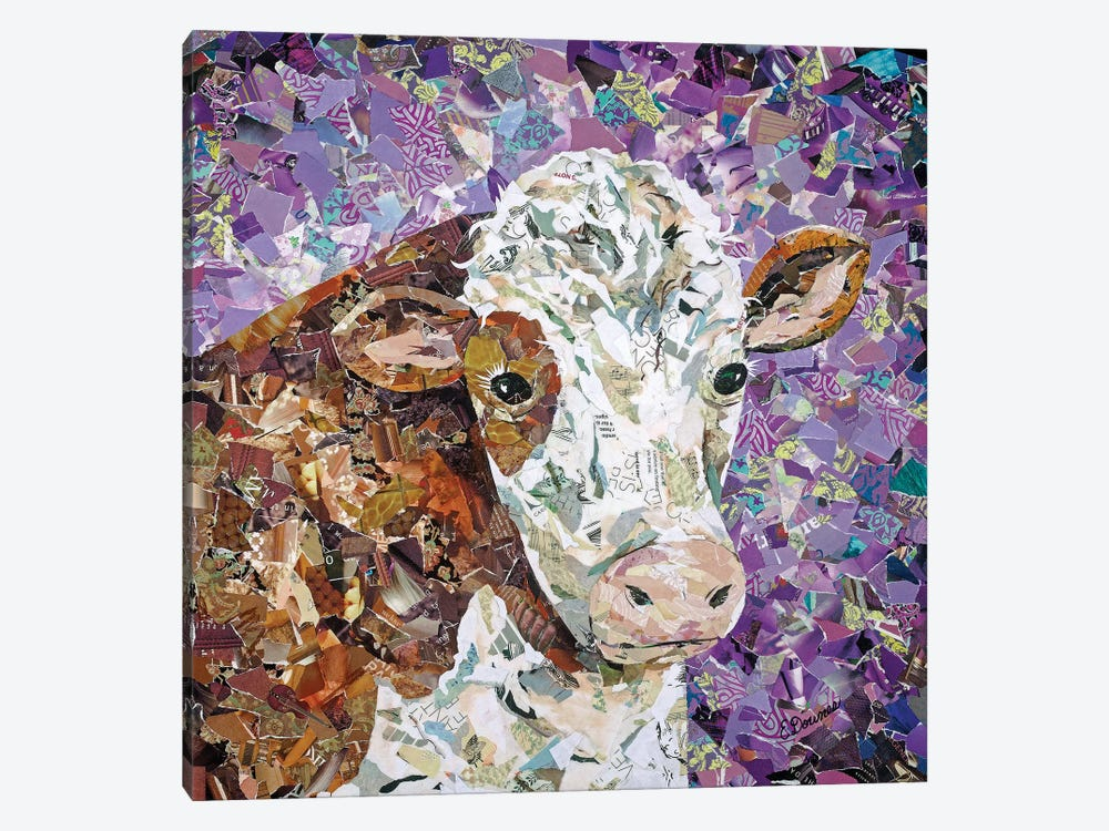 The Curious One by Eileen Downes 1-piece Canvas Artwork