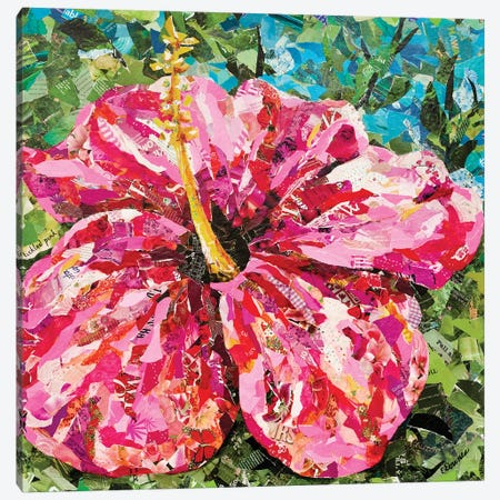 Tickled Pink 3-Piece Canvas #EDO16} by Eileen Downes Canvas Art Print