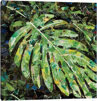 Tropical Delight Canvas Art Print