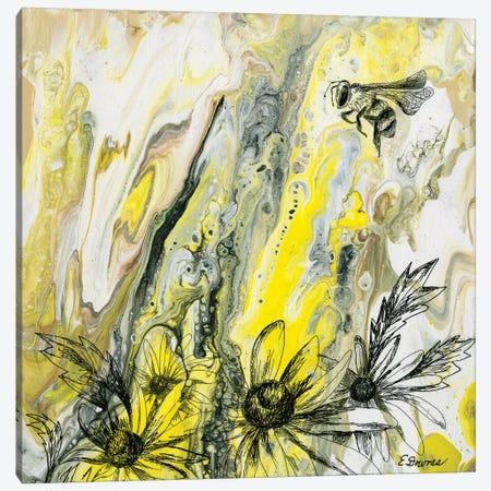 Thepollinator Canvas Print #EDO21} by Eileen Downes Art Print