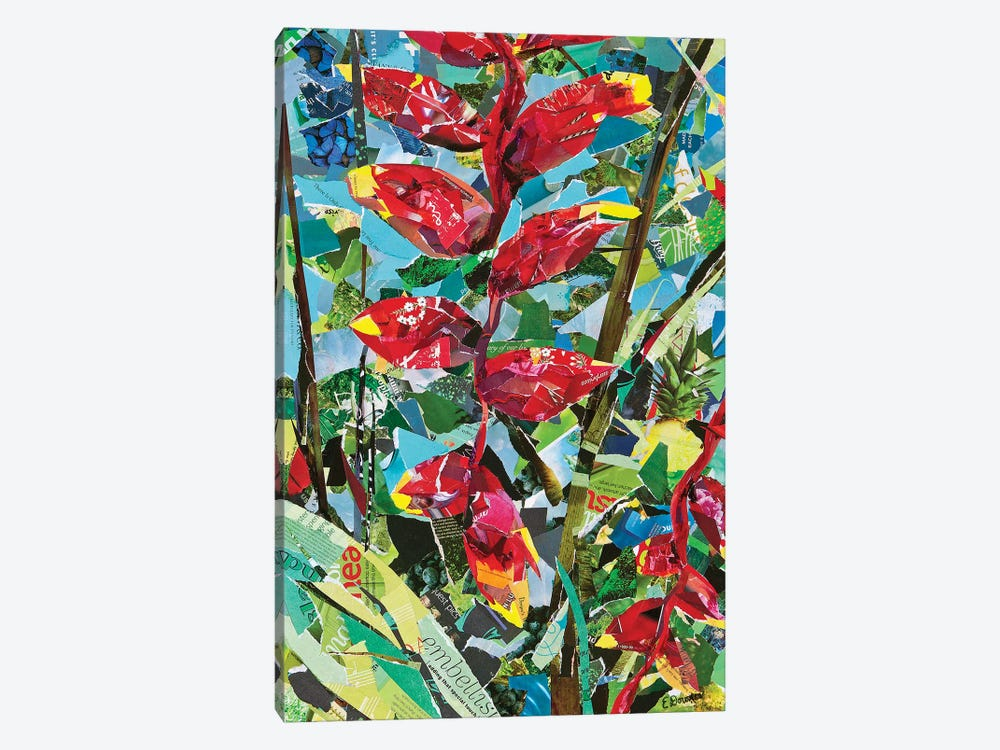 Heliconia Rostrata by Eileen Downes 1-piece Canvas Art Print