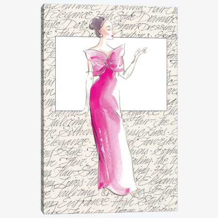 50's Fashion II Canvas Print #EDP1} by Elissa Della-Piana Canvas Wall Art