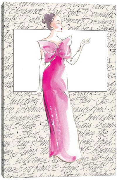 50's Fashion II Canvas Art Print