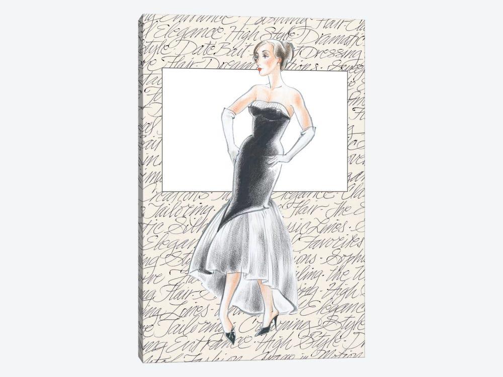 50's Fashion IX by Elissa Della-Piana 1-piece Art Print
