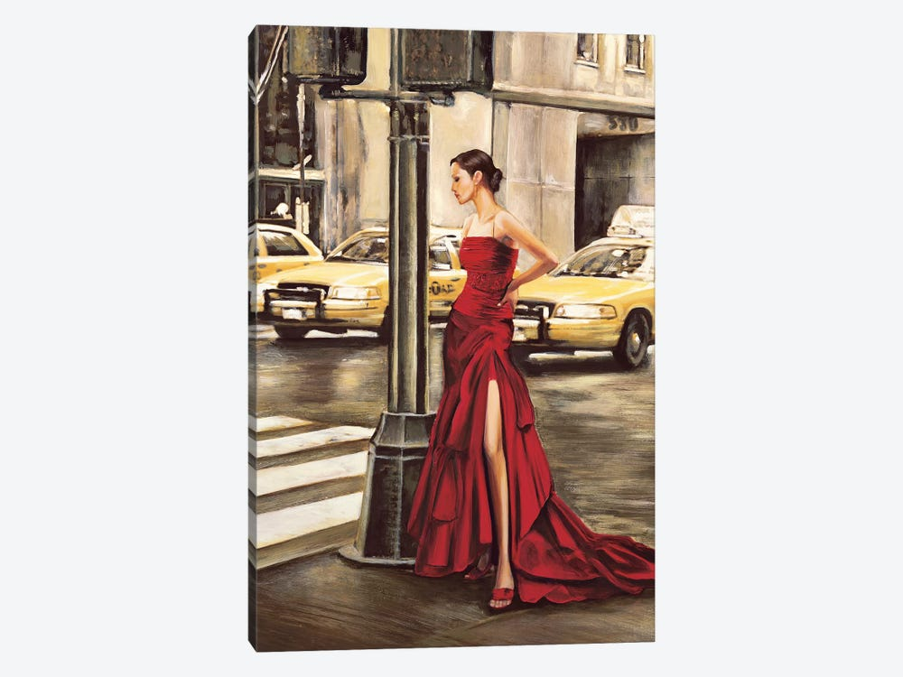 Woman in New York by Edoardo Rovere 1-piece Art Print