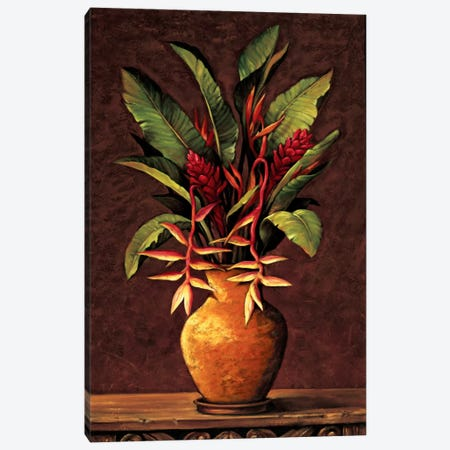 Tropical Arrangement II Canvas Print #EDU8} by Eduardo Art Print