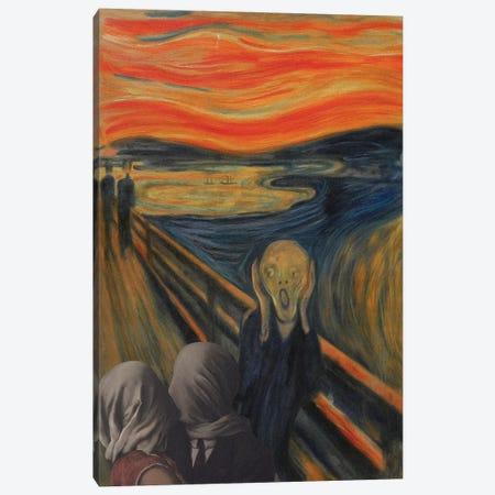 Blasphemous Canvas Print #EEE69} by Artelele Canvas Artwork