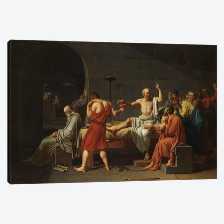 Thug Socrates Canvas Print #EEE71} by Artelele Canvas Print