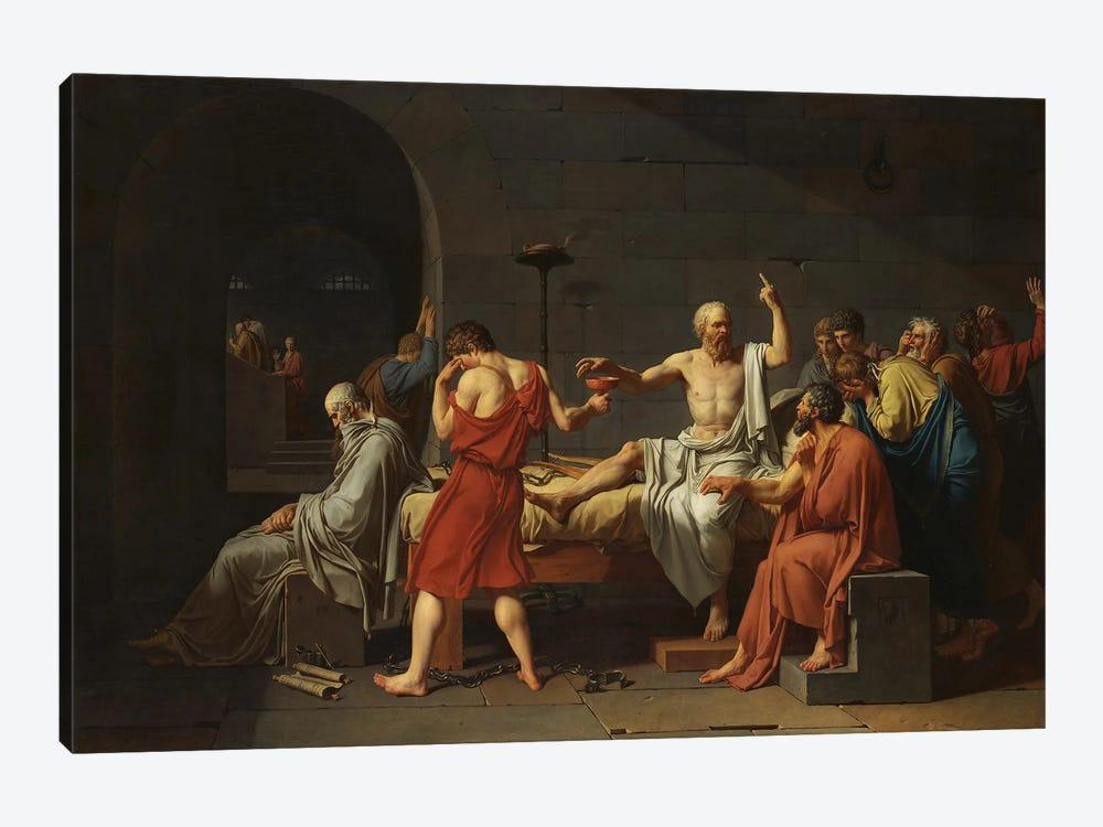 Thug Socrates by Artelele 1-piece Canvas Art