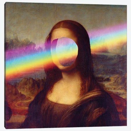 Rainbowlisa Canvas Print #EEE7} by Artelele Canvas Wall Art