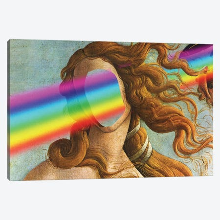 The Birth Of A Rainbow Canvas Print #EEE8} by Artelele Canvas Print