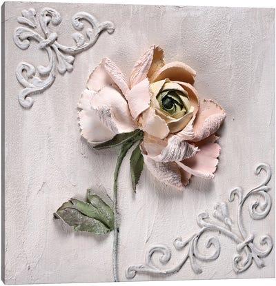 Ranunculus Pink Canvas Art Print