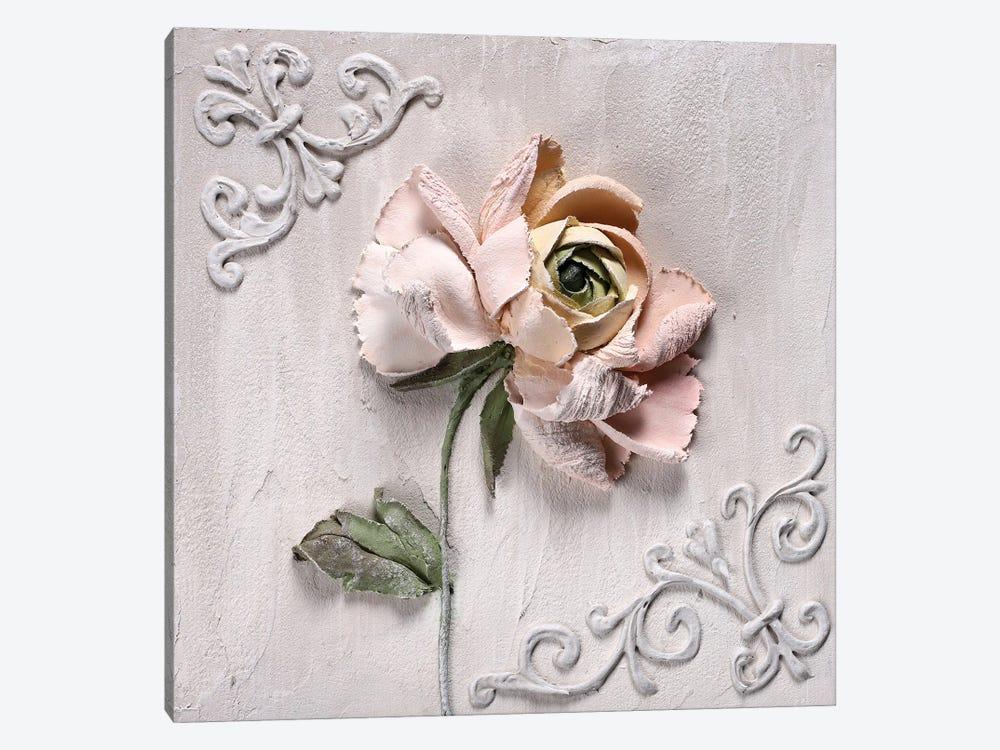 Ranunculus Pink by Evgenia Ermilova 1-piece Canvas Artwork