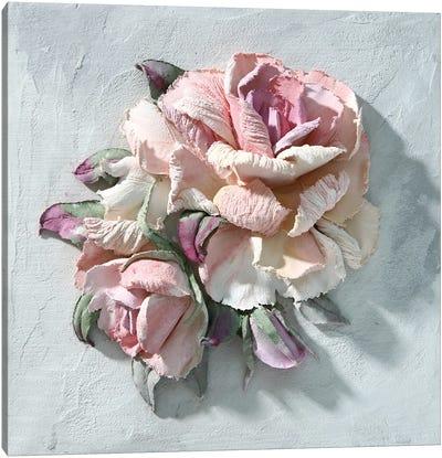 Pink Rose Canvas Art Print