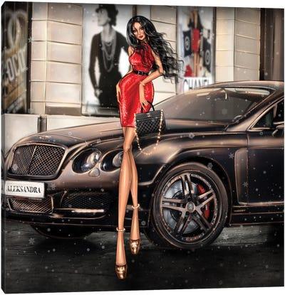 Bentley Canvas Art Print