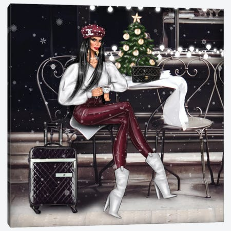 Christmas Canvas Print #EFE14} by Erin Felis Canvas Art