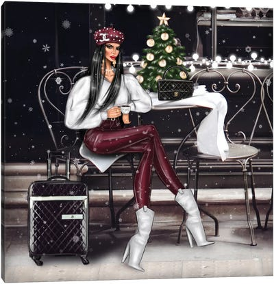 Christmas Canvas Art Print