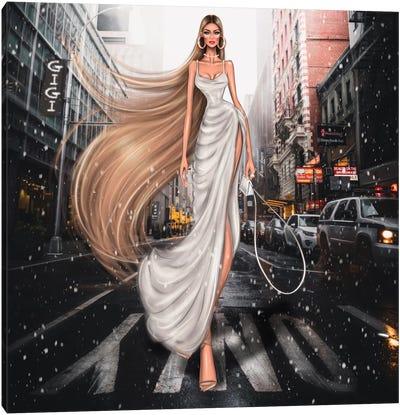 Gigi Hadid Canvas Art Print