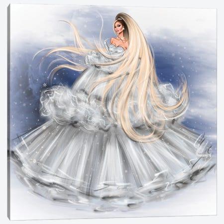 Ariana Grande Canvas Print #EFE24} by Erin Felis Canvas Print