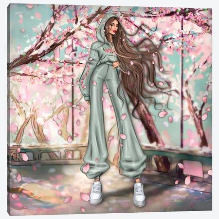 Sacura Canvas Print #EFE28} by Erin Felis Canvas Wall Art