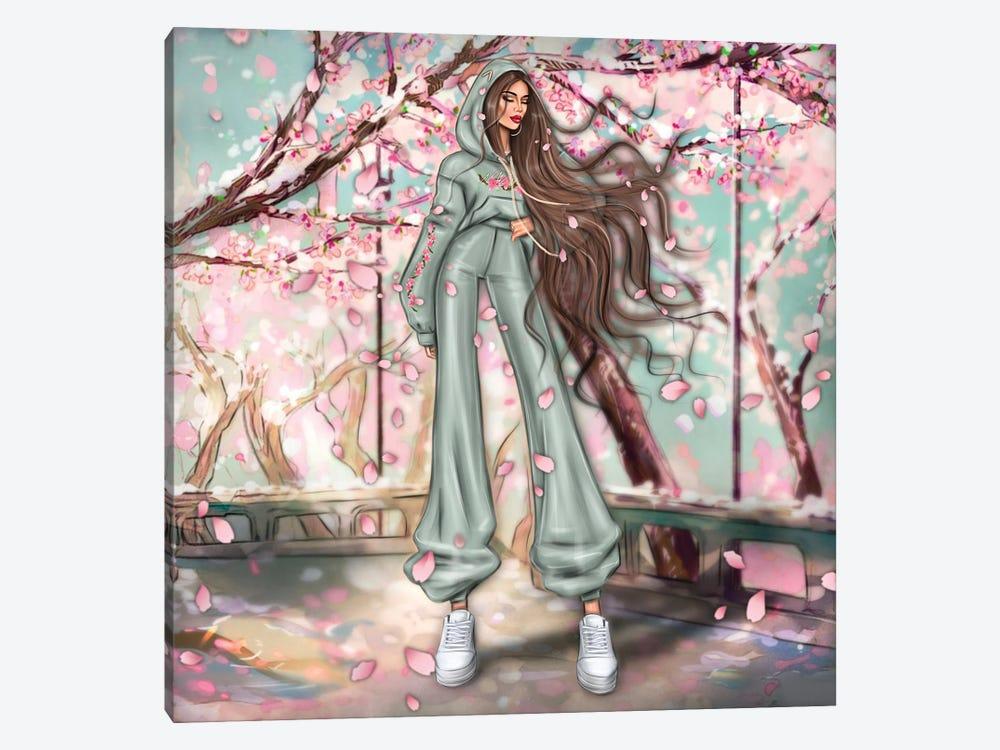 Sacura by Erin Felis 1-piece Canvas Artwork
