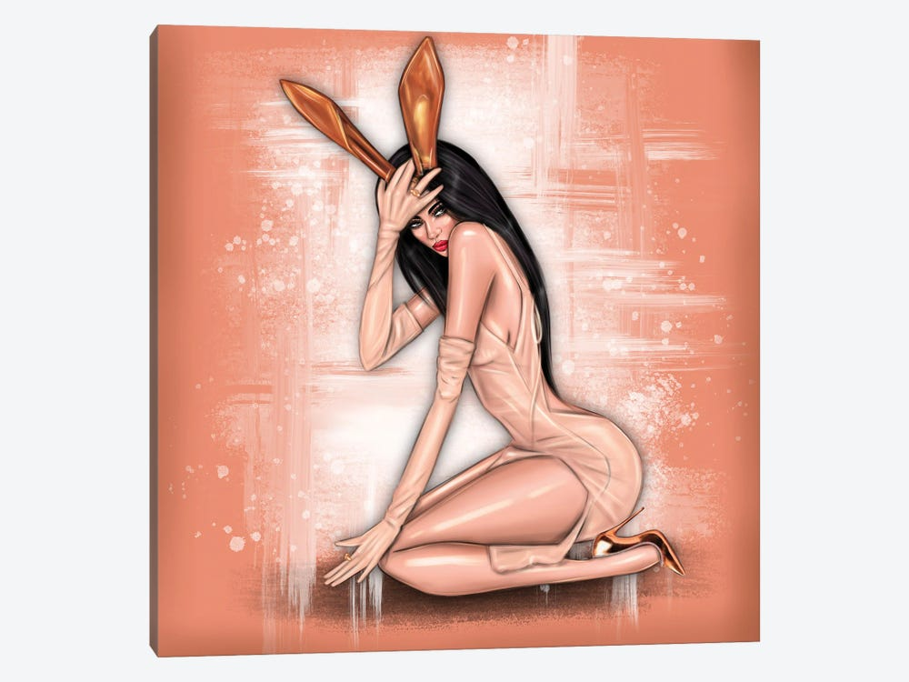 Kylie Jenner by Erin Felis 1-piece Canvas Art
