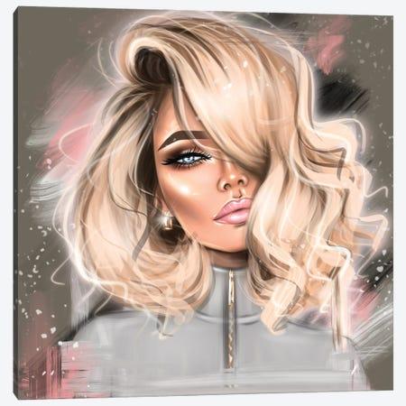 Blond Girl Canvas Print #EFE37} by Erin Felis Canvas Art