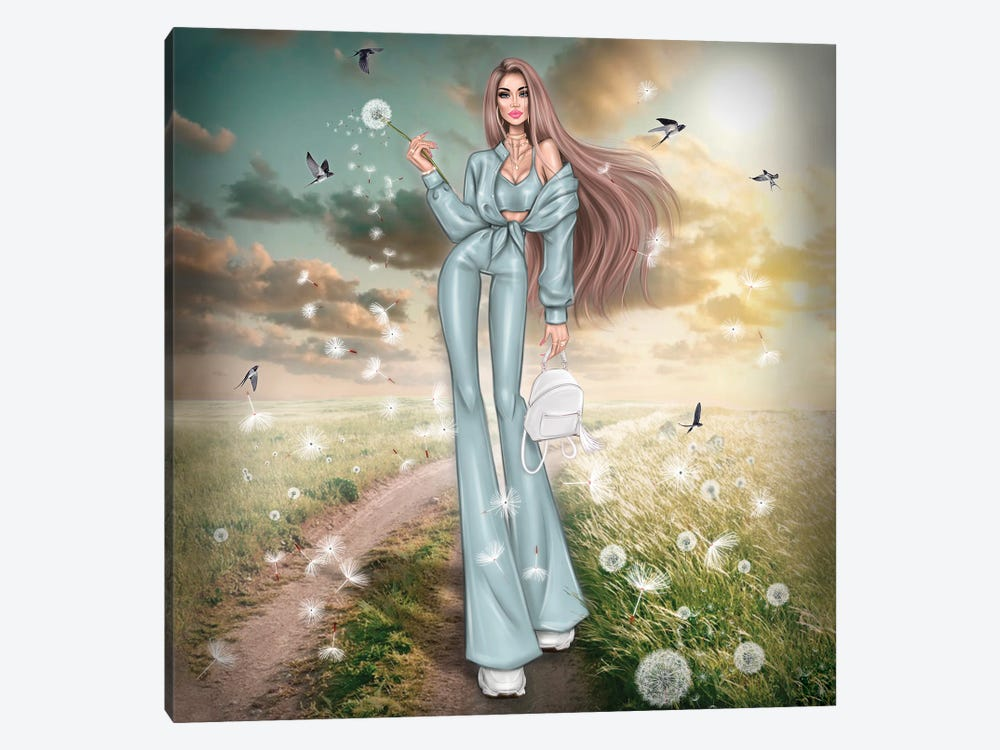 Dandelions by Erin Felis 1-piece Art Print