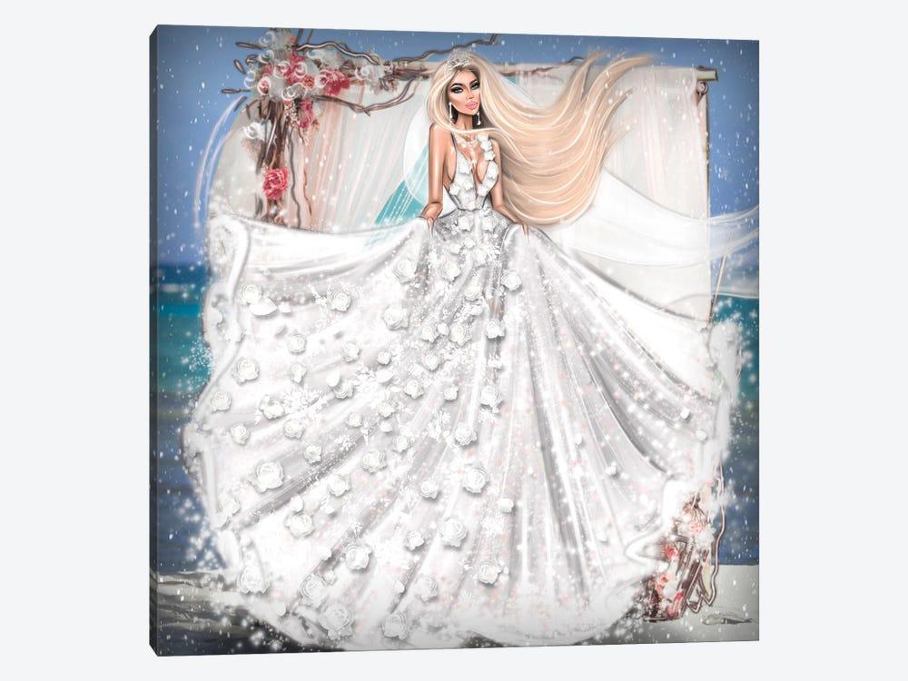 Bride by Erin Felis 1-piece Canvas Art Print
