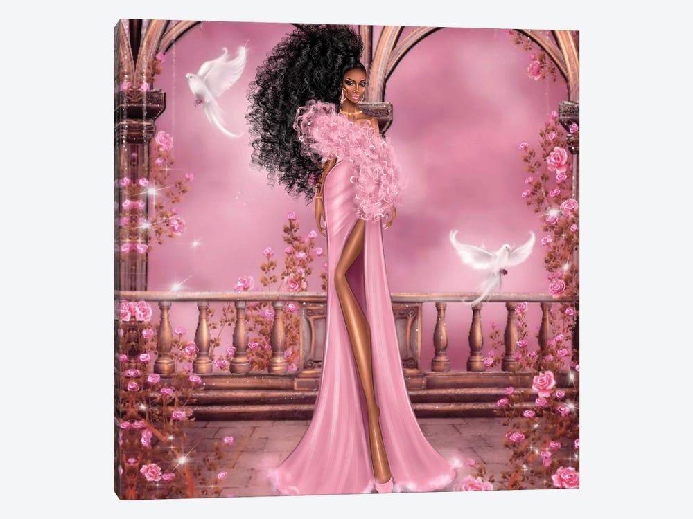 Women In Pink by Erin Felis 1-piece Canvas Artwork